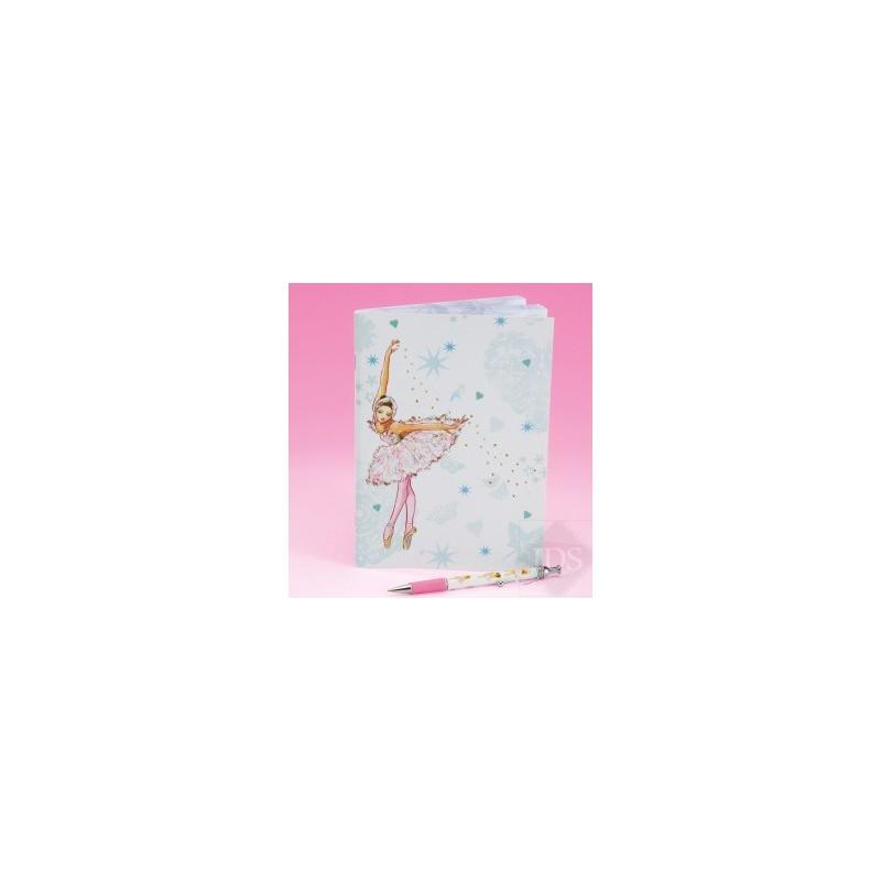 Notitieboekje ballerina
