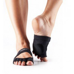Danskousen Releve zwart zonder tenen