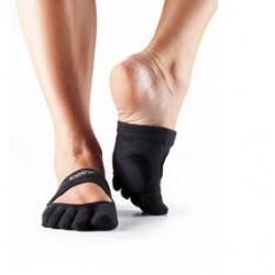 Danskousen Releve zwart met tenen