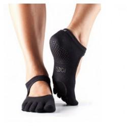 Danskousen Plié zwart met tenen