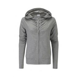 Button Up vest met hoodie