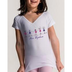 T-shirt Vive Jr Miss voor kinderen