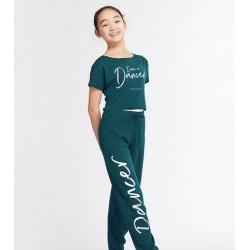 T-shirt I Am voor kinderen - kleur groen (duck)