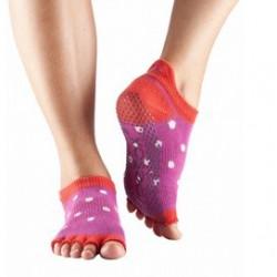 Pilateskousen Poppy Polka zonder tenen
