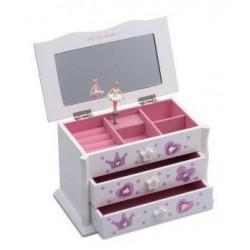 Boîte à bijoux splendide en bois