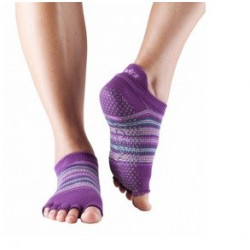 Pilateskousen Phlox Stripe zonder tenen